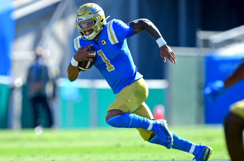 Dorian Thompson-Robinson, UCLA football Mandatory Credit: Jayne Kamin-Oncea-USA TODAY Sports