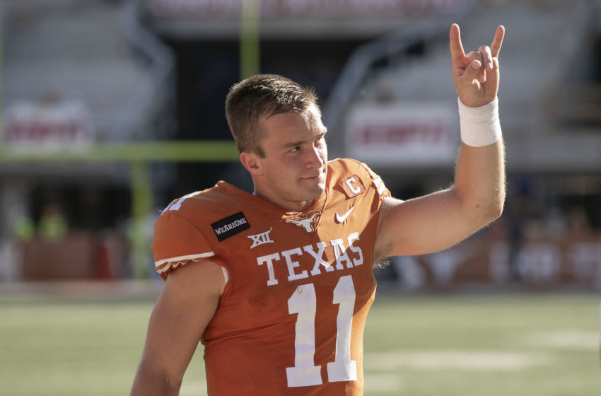 Sam Ehlinger, Texas football. Mandatory Credit: Jay Janner-USA TODAY NETWORK