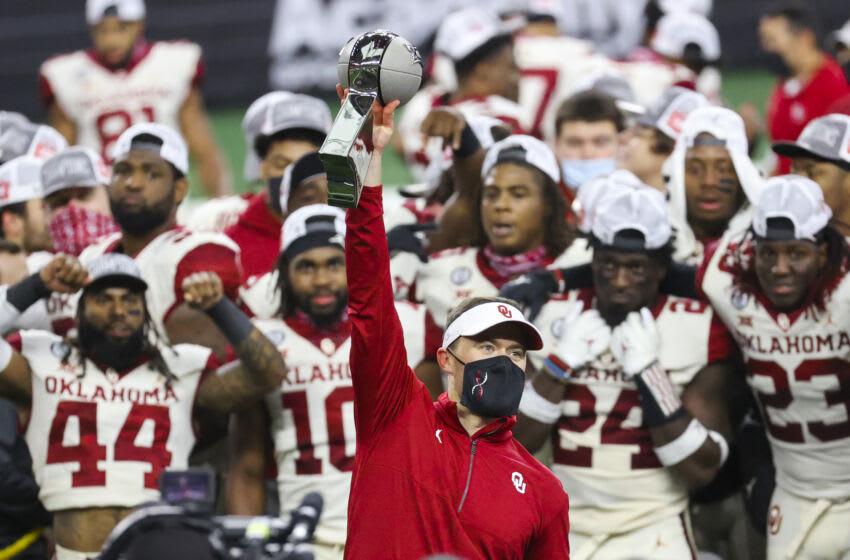 Lincoln Riley, Oklahoma Football. Mandatory Credit: Kevin Jairaj-USA TODAY Sports