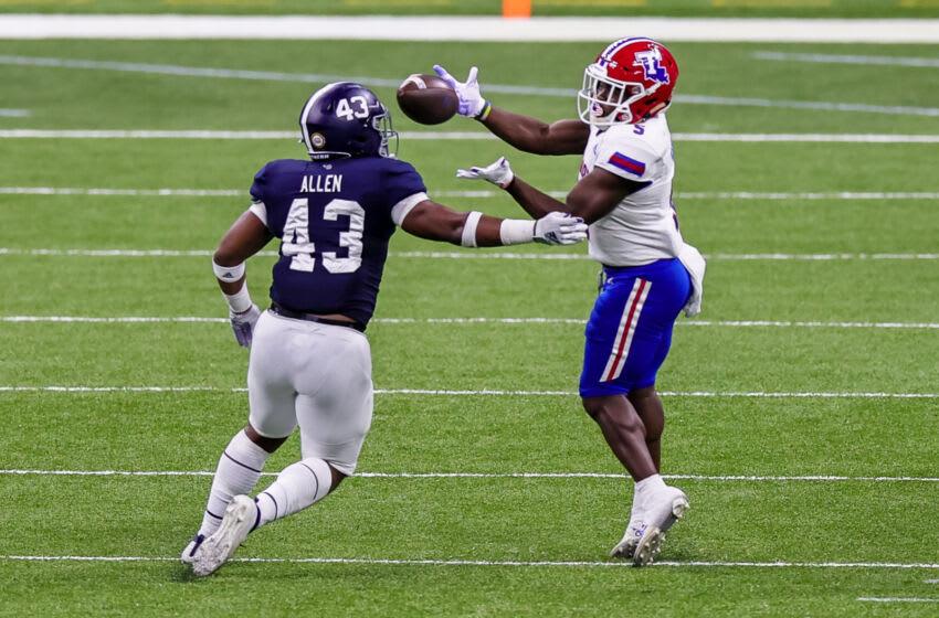 Smoke Harris, Louisiana Tech Football. Mandatory Credit: Stephen Lew-USA TODAY Sports