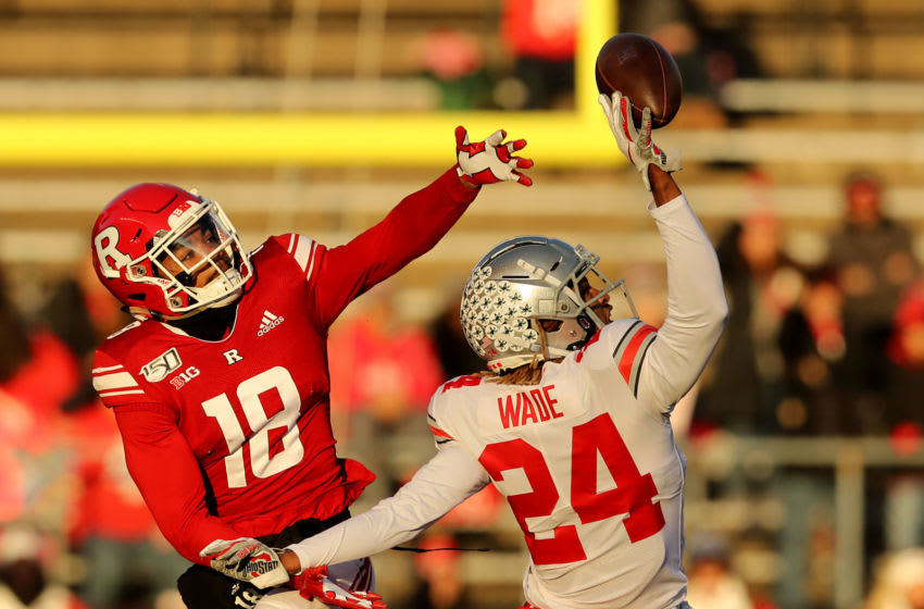 Ohio State football produces some great corners and Shaun Wade might be the best of the bunch. (Photo by Elsa/Getty Images)
