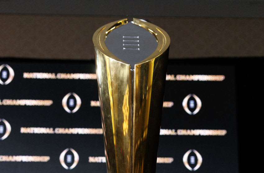 Ohio State would have a good case to be the first two-loss team to be selected to the College Football Playoff. (Photo by Don Juan Moore/Getty Images)
