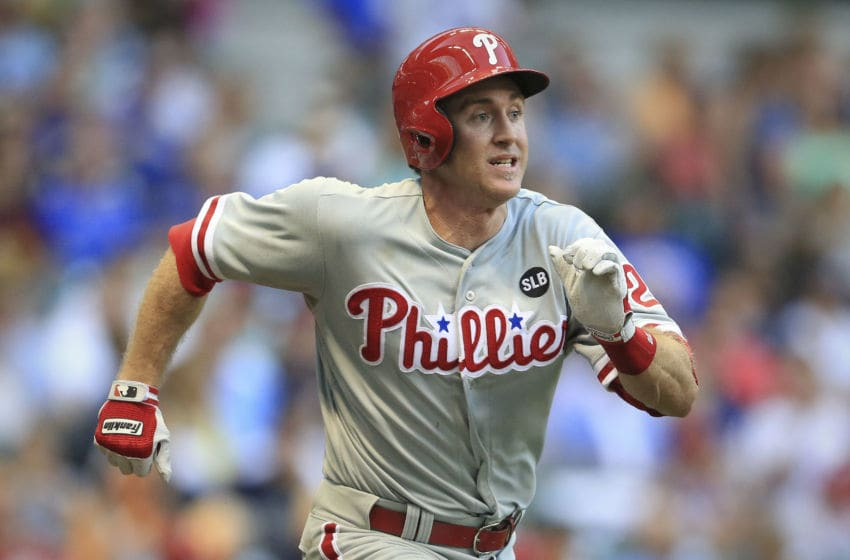 MILWAUKEE, WI - AUGUST 15: Chase Utley