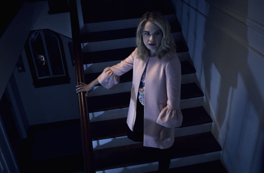 AMERICAN HORROR STORY: CULT -- Pictured: Leslie Grossman as Meadow Wilton. CR: Frank Ockenfels/FX