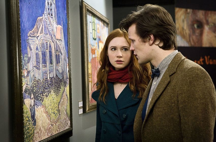 The Doctor's Finest, From the episode Doctor Who: The Doctor's Wife, Amy Pond (Karen Gillan) and the Eleventh Doctor (Matt Smith). Courtesy BBC