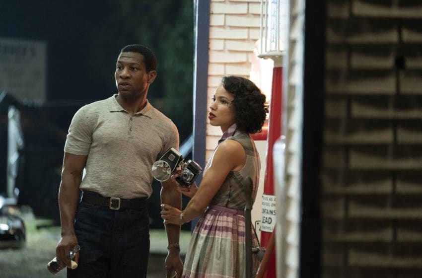 Jonathan Majors and Jurnee Smollett-Bell in Lovecraft Country - Photograph by Elizabeth Morris/HBO