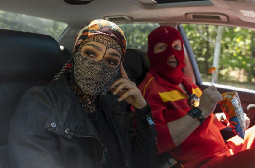 Photo: Jessica Camacho, Andrew Howard in Watchmen.. Image Courtesy Mark Hill/HBO