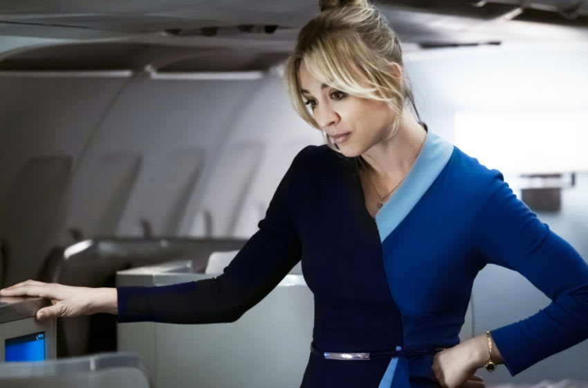 Kaley Cuoco in The Flight Attendant Episode 1,