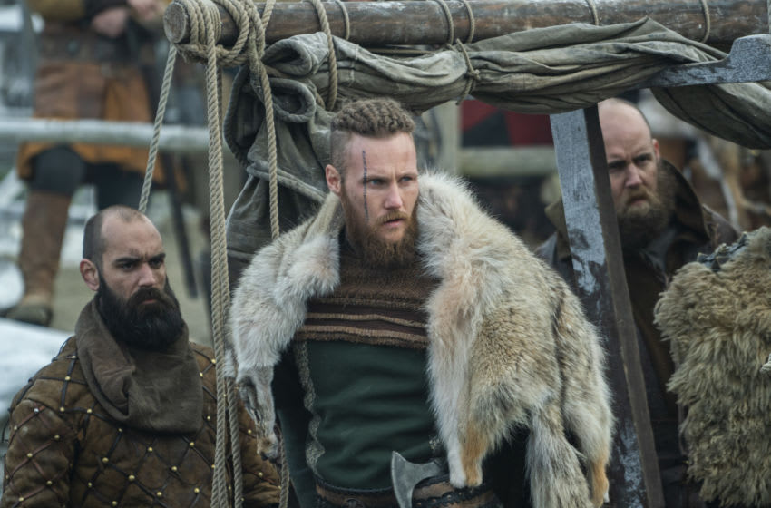 Ubbe (Jordan Patrick Smith) from HISTORY's Vikings. Photo by Bernard Walsh.