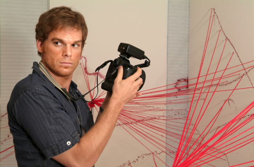 Michael C. Hall as Dexter Morgan in Dexter (Season 1, episode 1) - Photo: Courtesy of Showtime - Photo ID: DEX_101_PLT_1133