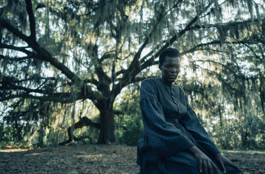 Pictured: Sheila Atim (Mabel) in The Underground Railroad - Courtesy of Atsushi Nishijima/Amazon Studios