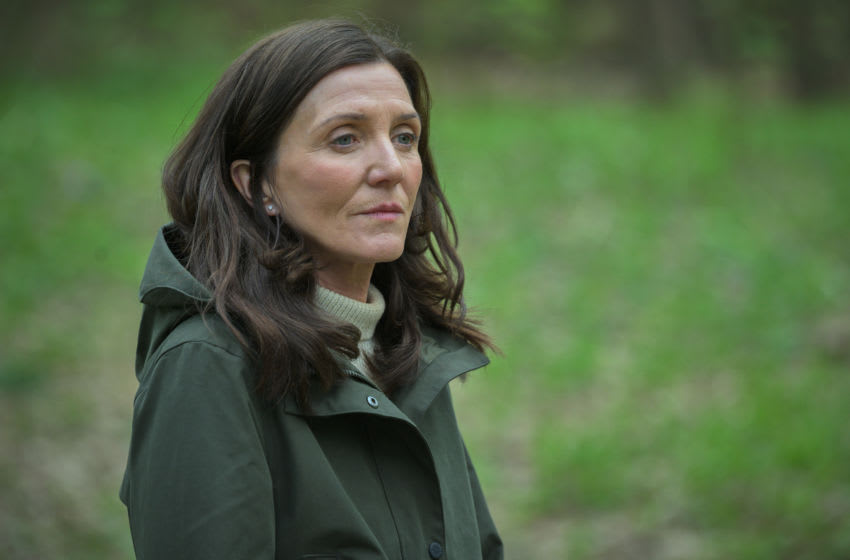 Michelle Fairley as Marian Wallace in Gangs of London Season 1, Episode 2 - Photo Credit: AMC/SKY