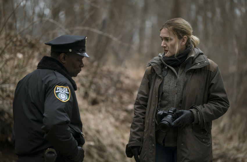 John Douglas Thompson, Kate Winslet in Mare of Easttown Episode 2 - Photograph by Michele K. Short/HBO