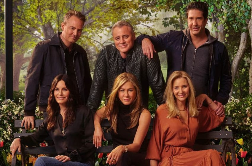Friends: The Reunion. Image courtesy HBO Max