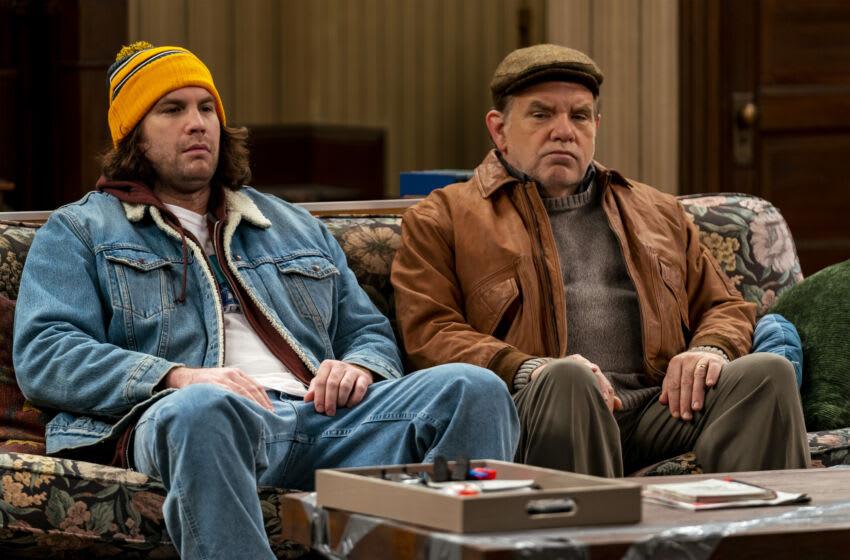 Alex Bonifer as Neil, Brian Howe as Pete - Kevin Can F*** Himself _ Season 1, Episode 5 - Photo Credit: Zach Dilgard/AMC