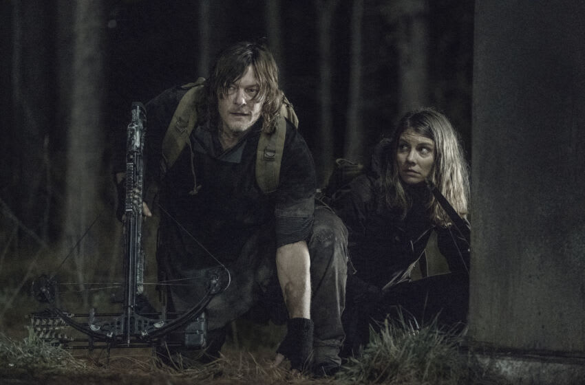 Lauren Cohan as Maggie Greene, Norman Reedus as Daryl Dixon - The Walking Dead _ Season 11, Episode 2 - Photo Credit: Josh Stringer/AMC