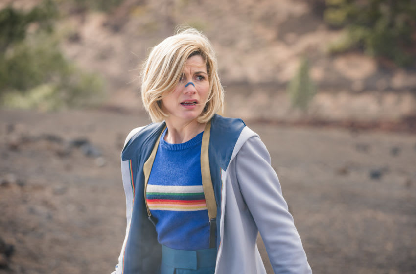 Jodie Whittaker as The Doctor - Doctor Who _ Season 12, Episode 3 - Photo Credit: Ben Blackall/BBC Studios/BBC America