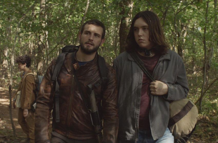 Nico Tortorella as FeliX, Hal Cumpston as Silas - The Walking Dead: World Beyond _ Season 1, Episode 6 - Photo Credit: AMC