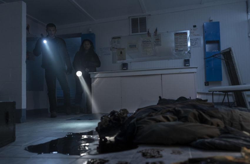 Annet Mahendru as Huck, Aliyah Royale as Iris - The Walking Dead: World Beyond _ Season 1, Episode 7 - Photo Credit: Zach Dilgard/AMC