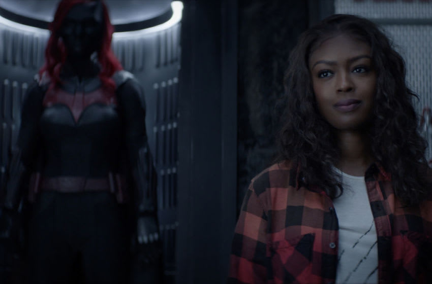 """Batwoman -- """"Prior Criminal History"""" -- Image Number: BWN202fg_0078r -- Pictured: Javicia Leslie as Ryan Wilder -- Photo: The CW -- © 2020 The CW Network, LLC. All Rights Reserved."""