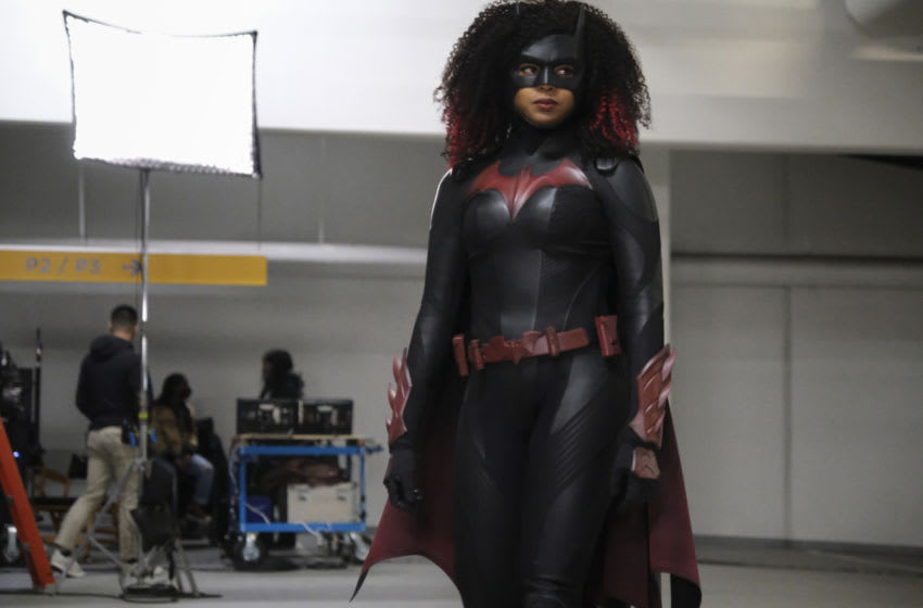 """Batwoman -- """"Rule #1"""" -- Image Number: BWN209a_BTS_0369r -- Pictured: Javicia Leslie as Batwoman -- Photo: Bettina Strauss/The CW -- © 2021 The CW Network, LLC. All Rights Reserved."""