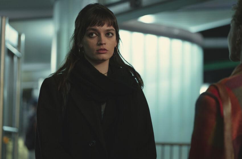 Sex Education Season 3. Emma Mackey as Maeve Wiley in Episode 8 of Sex Education Season 3. Cr. Sam Taylor/NETFLIX © 2020