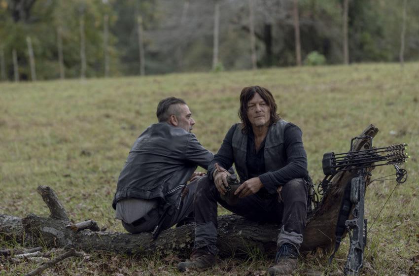 Norman Reedus as Daryl Dixon, Jeffrey Dean Morgan as Negan - The Walking Dead _ Season 10, Episode 14 - Photo Credit: Jackson Lee Davis/AMC