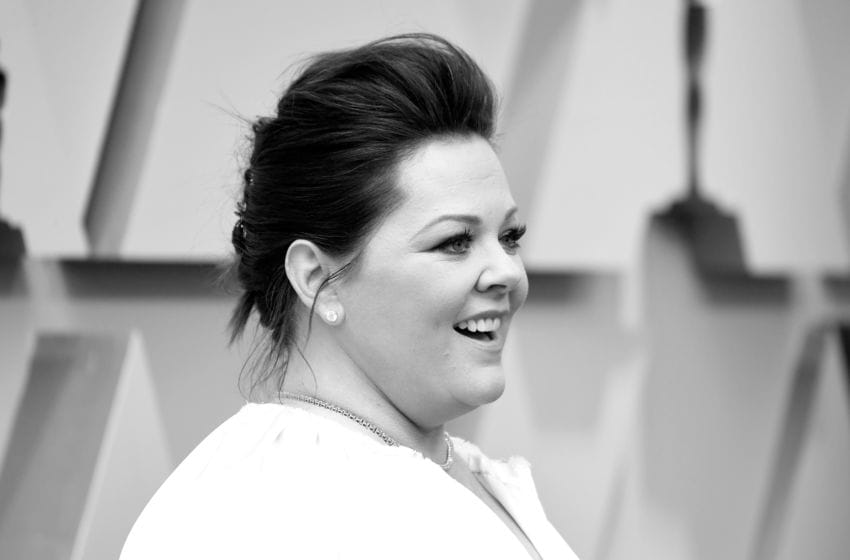 HOLLYWOOD, CALIFORNIA - FEBRUARY 24: (EDITORS NOTE: Image has been converted to black and white.) Melissa McCarthy attends the 91st Annual Academy Awards at Hollywood and Highland on February 24, 2019 in Hollywood, California. (Photo by Frazer Harrison/Getty Images)