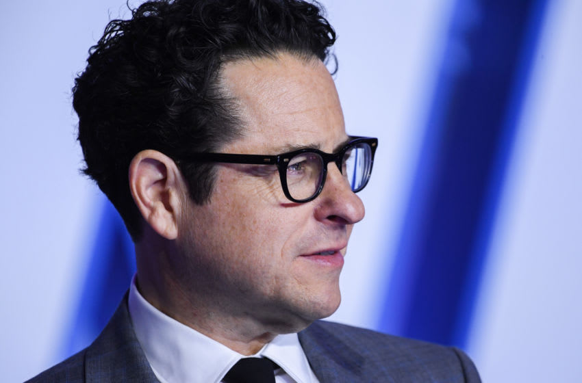 LONDON, ENGLAND - DECEMBER 18: J.J. Abrams attends the European premiere of