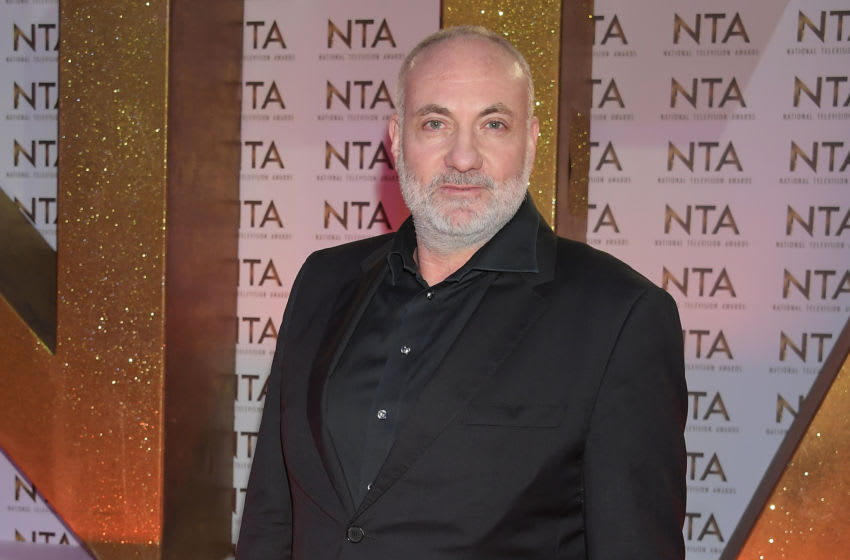 LONDON, ENGLAND - JANUARY 28: Kim Bodnia attends the National Television Awards 2020 at The O2 Arena on January 28, 2020 in London, England. (Photo by David M. Benett/Dave Benett/Getty Images)