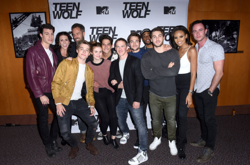 LOS ANGELES, CA - SEPTEMBER 21: The cast of Teen Wolf at the MTV Teen Wolf 100th episode screening and series wrap party at DGA Theater on September 21, 2017 in Los Angeles, California. (Photo by Vivien Killilea/Getty Images for MTV)