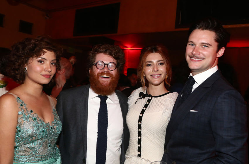 HOLLYWOOD, CA - JUNE 04: Veronica Osorio, Zack Pearlman, Elena Satine and Jack Reynor attend the After Party for the Premiere Of CBS All Access'