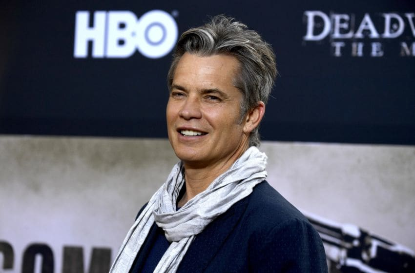Timothy Olyphant attends the LA Premiere Of HBO's
