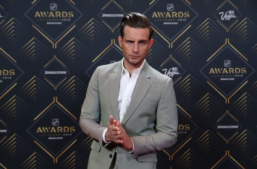 LAS VEGAS, NEVADA - JUNE 19: Actor/model Nico Tortorella arrives at the 2019 NHL Awards at the Mandalay Bay Events Center on June 19, 2019 in Las Vegas, Nevada. (Photo by Bruce Bennett/Getty Images)