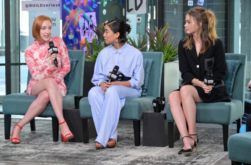 Haley Ramm, Brianne Tju and Liana Liberato visit Build to discuss the series