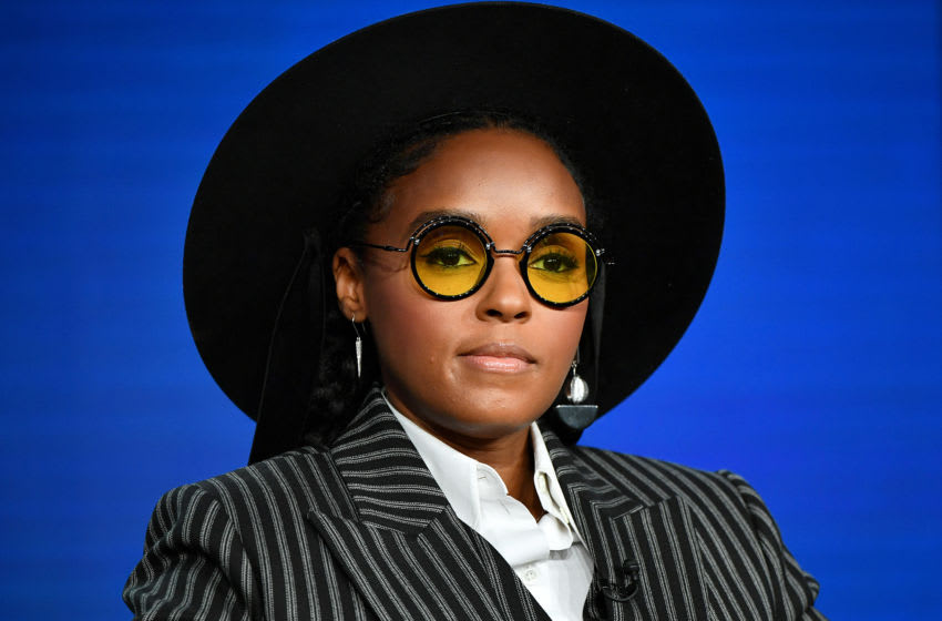 PASADENA, CALIFORNIA - JANUARY 14: Janelle Monae of Amazon Prime's 'Homecoming' speaks onstage during the 2020 Winter TCA Tour Day 8 at The Langham Huntington, Pasadena on January 14, 2020 in Pasadena, California. (Photo by Amy Sussman/Getty Images)