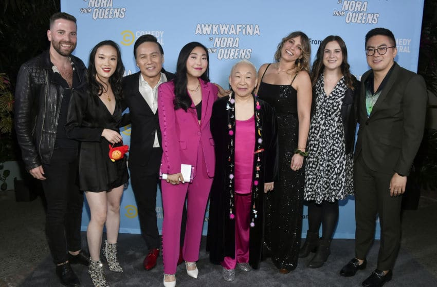Awkwafina is Nora From Queens-Courtesy of Frazer Harrison/Getty Images for Comedy Central