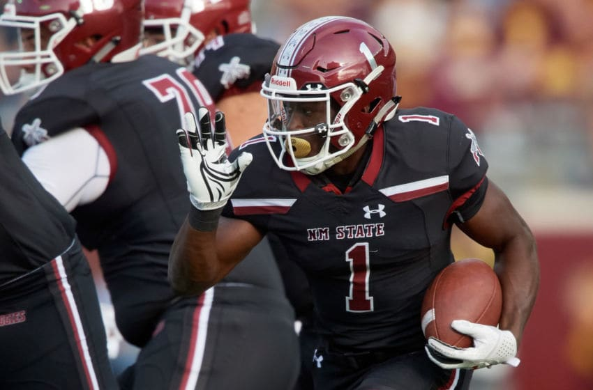 Jason Huntley, New Mexico State Aggies (Photo by Hannah Foslien/Getty Images)
