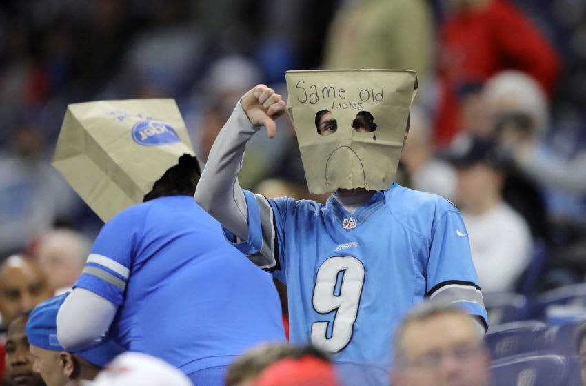 Detroit Lions fans (Photo by Rey Del Rio/Getty Images)