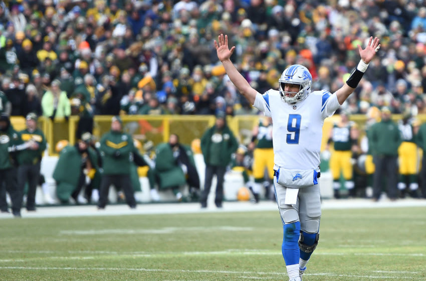 Matthew Stafford, Detroit Lions (Photo by Stacy Revere/Getty Images)