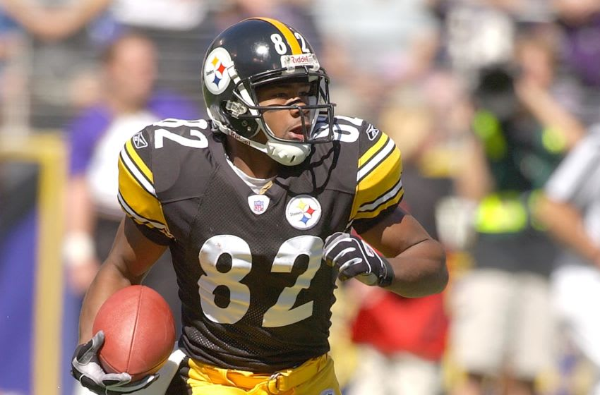Antwaan Randle El, Pittsburgh Steelers (Photo by Mitchell Layton/Getty Images)