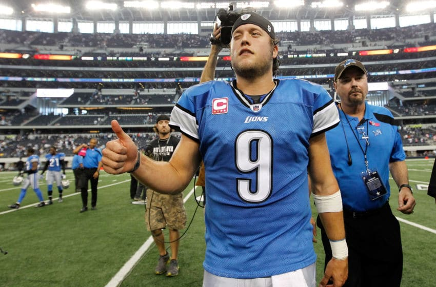 Matthew Stafford, Detroit Lions (Photo by Tom Pennington/Getty Images)