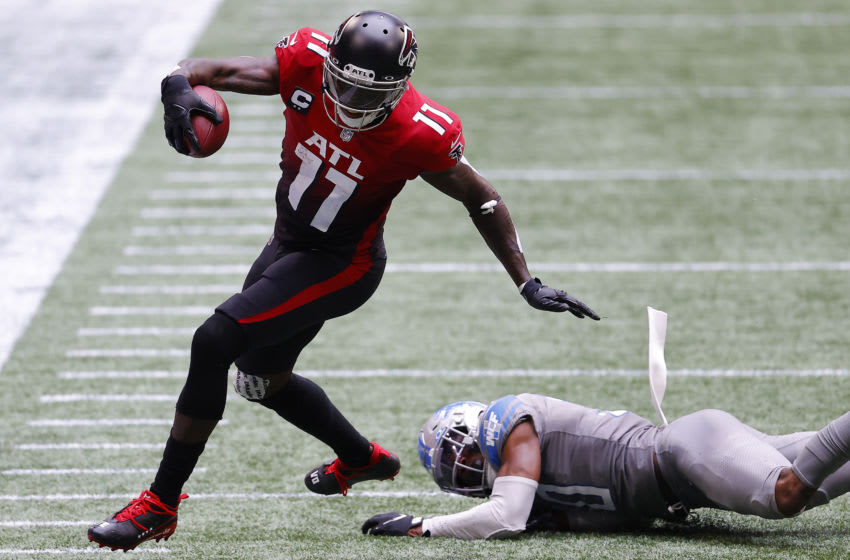 Julio Jones #11 of the Atlanta Falcons (Photo by Kevin C. Cox/Getty Images)