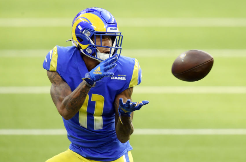 Josh Reynolds #11 of the Los Angeles Rams (Photo by Harry How/Getty Images)