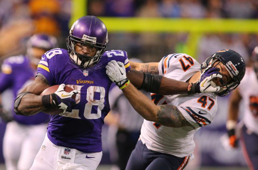 Adrian Peterson, Minnesota Vikings (Photo by Adam Bettcher/Getty Images)