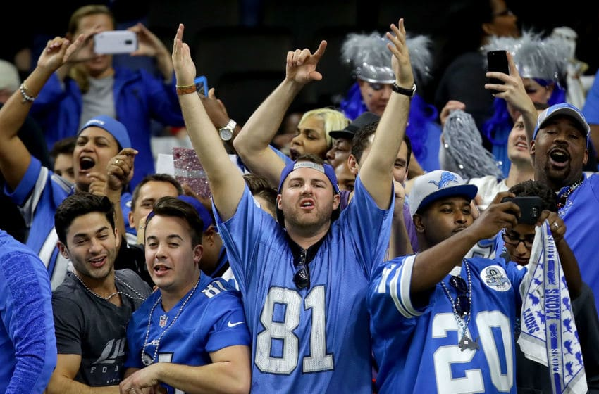 Detroit Lions fans (Photo by Sean Gardner/Getty Images)