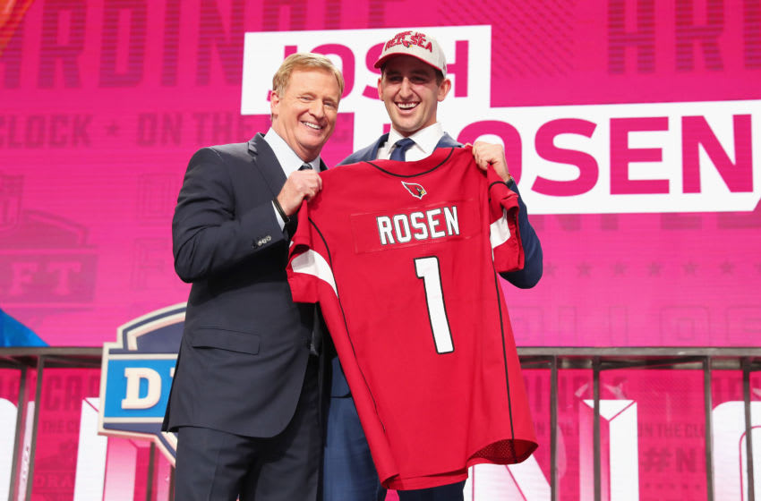 Josh Rosen, NFL Draft (Photo by Tom Pennington/Getty Images)