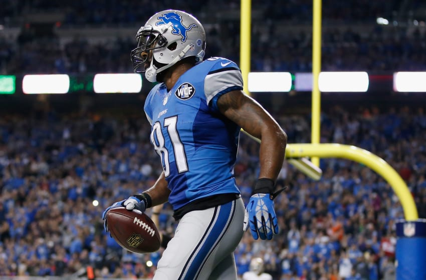 Calvin Johnson, Detroit Lions. (Photo by Gregory Shamus/Getty Images)