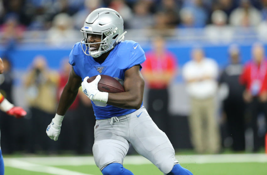 Kerryon Johnson, Detroit Lions (Photo by Rey Del Rio/Getty Images)