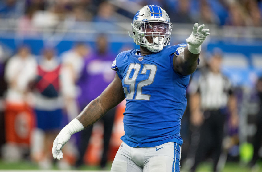 Kevin Strong, Detroit Lions (Photo by Leon Halip/Getty Images)